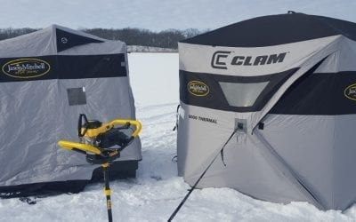 Portable Ice Shelter Reviews for 2018 - Flip Over Ice House