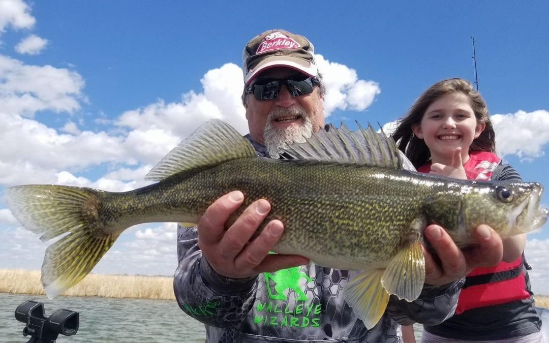 Walleye fishing report 5 4 18 missouri river north dakota for Missouri river fishing report south dakota