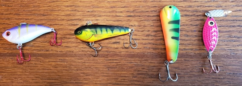 walleye ice lures