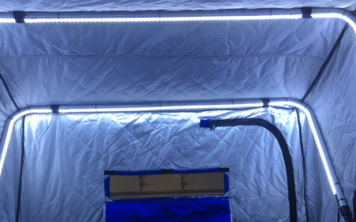 DIY Ice House Lights for Portable Shacks