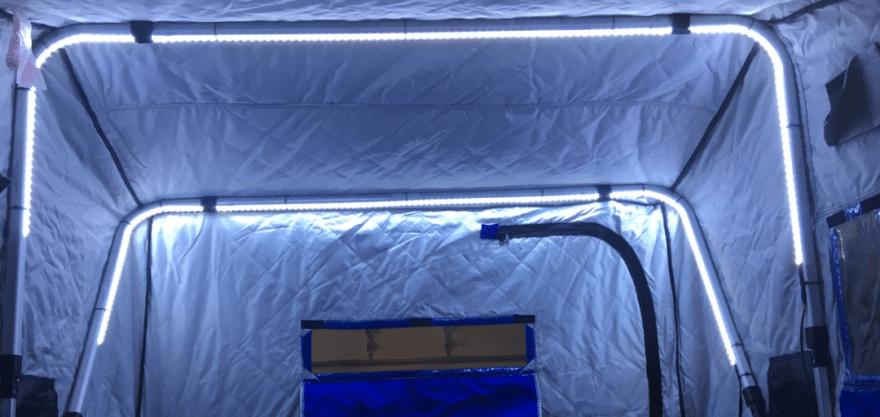 DIY Ice House Lights for Portable Shacks